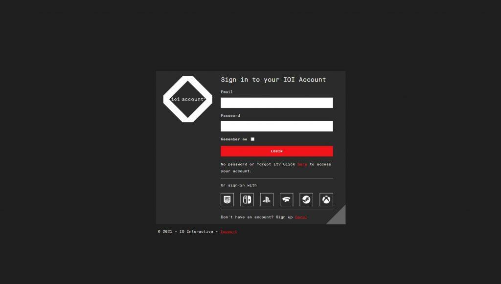 IOI registro de usuario