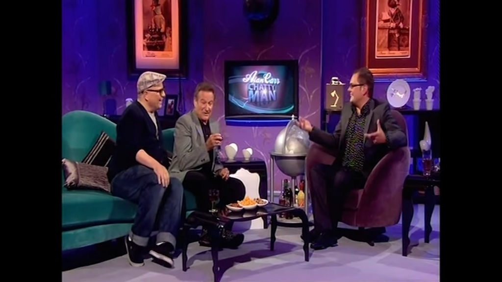 Robin Williams en el programa 'Alan Carr: Chatty Man'