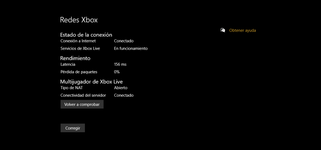 Redes Xbox