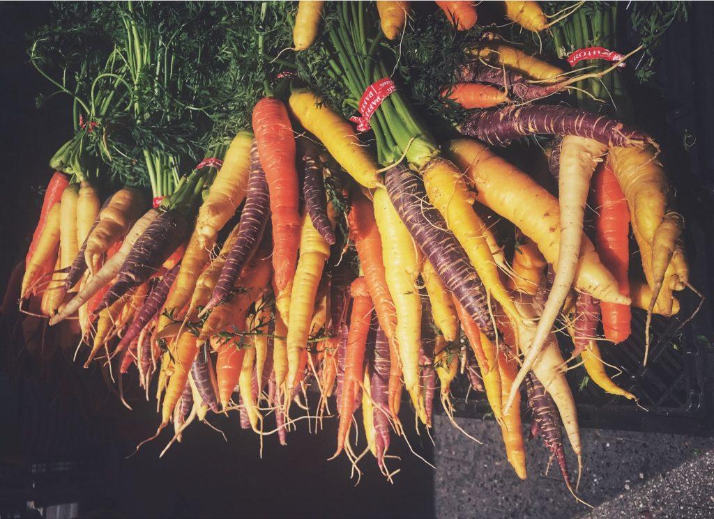 Zanahorias de color